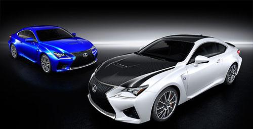 Lexus RC F (frontal)