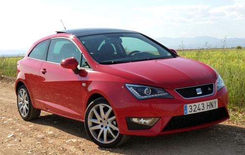 Seat Ibiza FR (frontal)