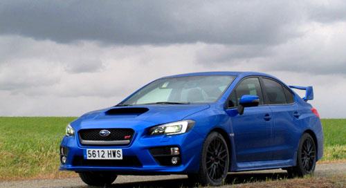Subaru WRX STI (frontal)