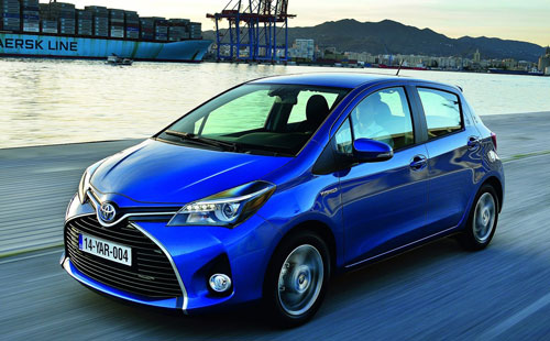 Toyota Yaris (frontal)
