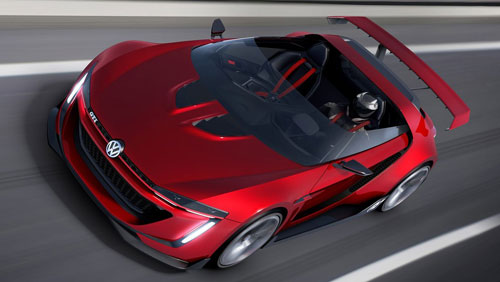VW GTI Roadster Concept (frontal)