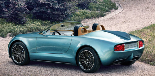 Mini Superleggera Vision Concept (trasera)