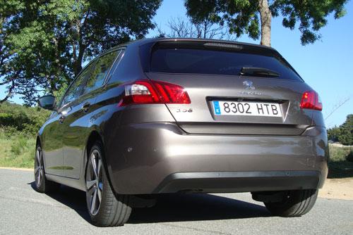 Peugeot 308 (trasera)