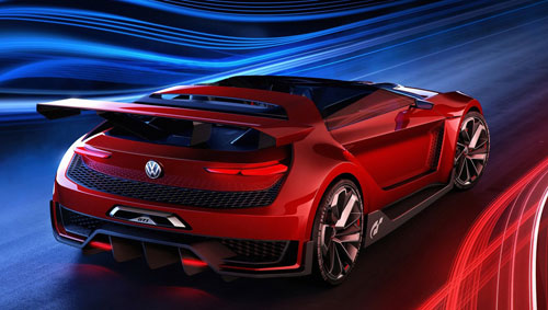 VW GTI Roadster Concept (trasera)