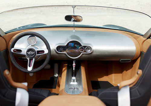 Mini Superleggera Vision Concept (interior)