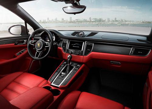 Porsche Macan (interior)
