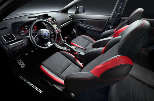 Subaru WRX STI (interior)