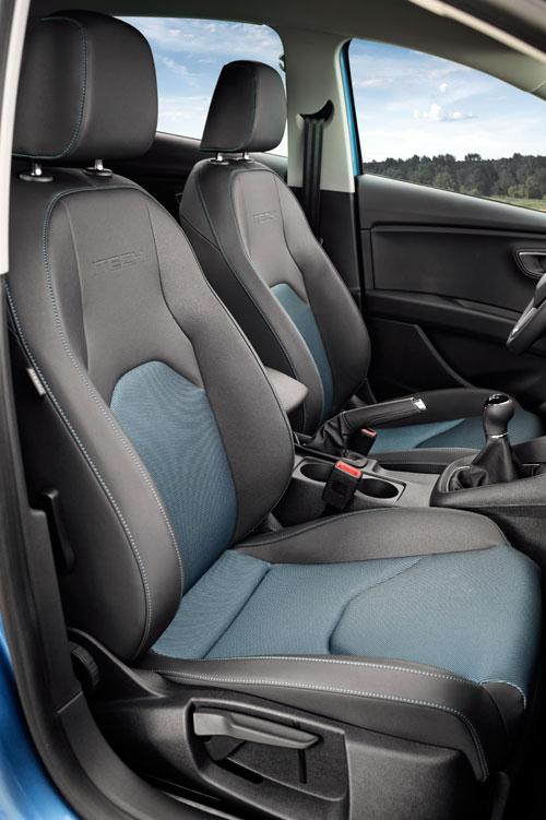 Seat León Ecomotive (interior)