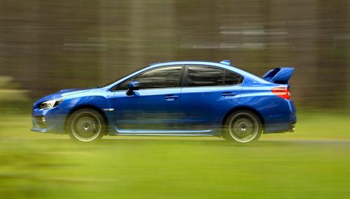 Subaru WRX STI (dinámica)