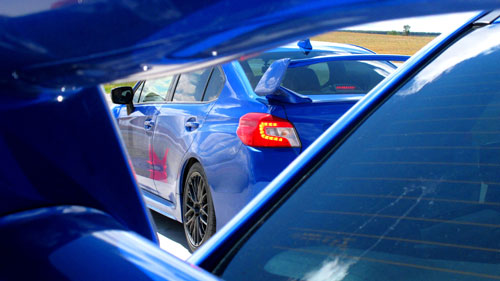 Subaru WRX STI (detalle)