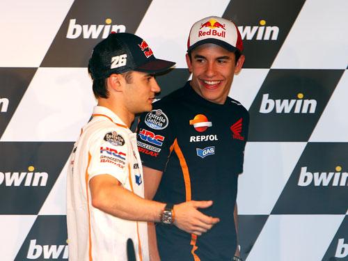 Márquez y Pedrosa