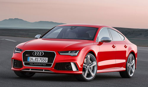 Audi RS 7 Sportsback (frontal)