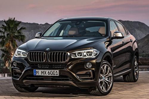 BMW X6 (frontal)
