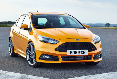 Ford Focus ST (frontal)