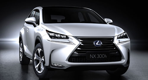 Lexus NX (frontal)