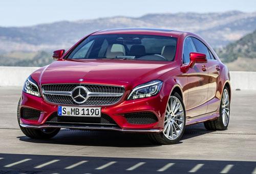 Mercedes-Benz CLS (frontal)