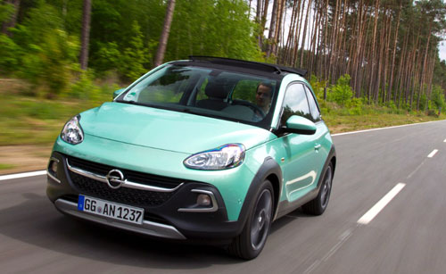 Opel Adam Rocks (frontal)