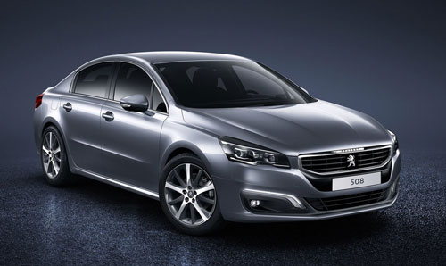 Peugeot 508 (frontal)