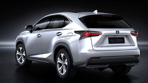 Lexus NX (trasera)