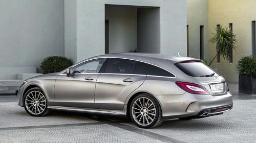 Mercedes-Benz CLS (trasera)