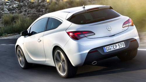 el opel astra gtc con el nuevo motor 1 6 cdti ecotec de 136 cv por euros. Black Bedroom Furniture Sets. Home Design Ideas