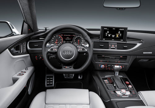 Audi RS 7 Sportsback (interior)
