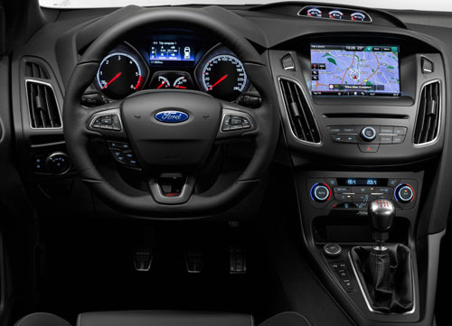 Ford Focus ST (interior)