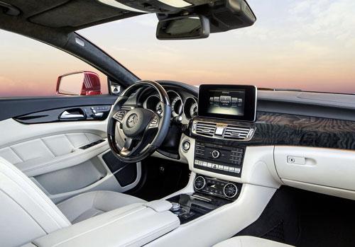 Mercedes-Benz CLS (interior)