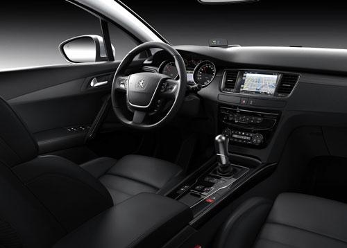 Peugeot 508 (interior)