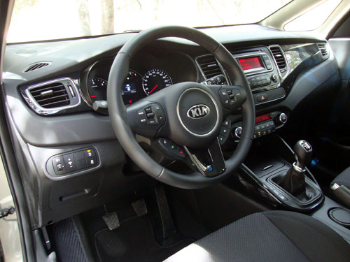 Kia Carens (interior)