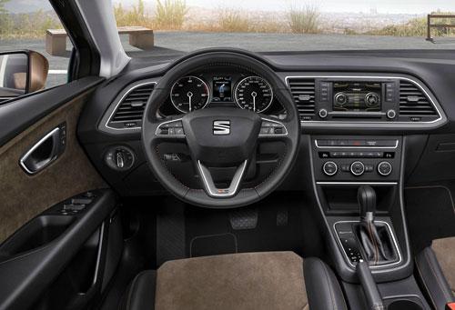 Seat León (interior)