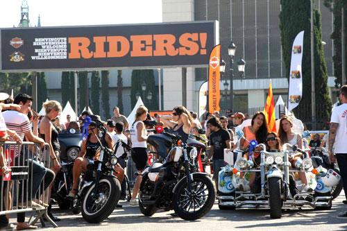 Barcelona, Harley Days (2)