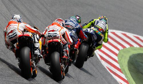 Marc Márquez - Rossi - Lorenzo - Pedrosa - MotoGP