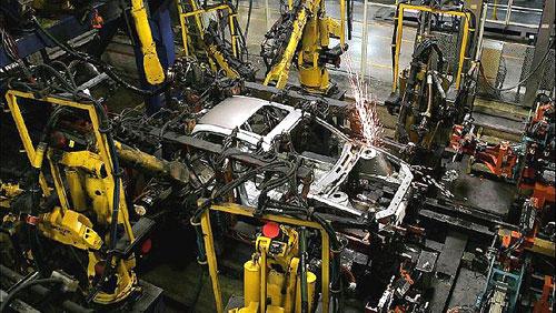 Producción de coches
