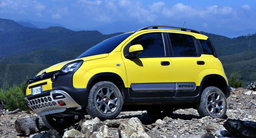 Fiat Panda Cross (frontal)