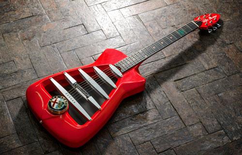 Guitarra eléctrica Alfa Romeo