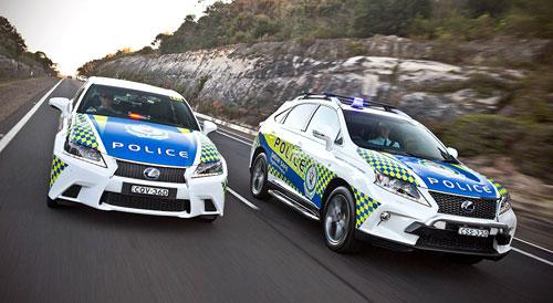 Lexus policia