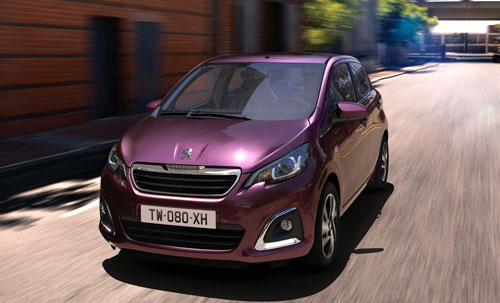Peugeot 108 (frontal)