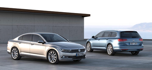VW Passat (frontal y trasera)
