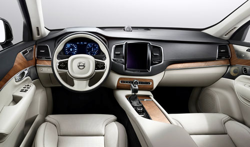 Volvo Concept Estate (interior)