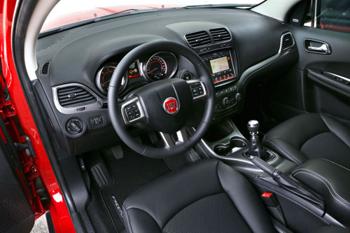 Fiat Freemont (interior)