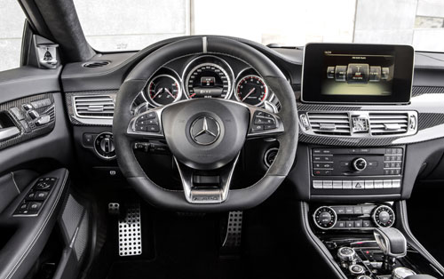 Mercedes-Benz CLS (interior)