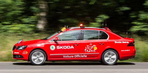 Skoda - Tour de Francia (2)