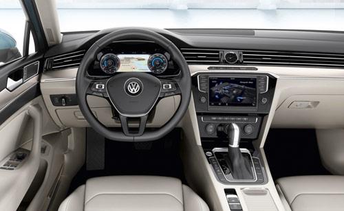 VW Passat (interior)