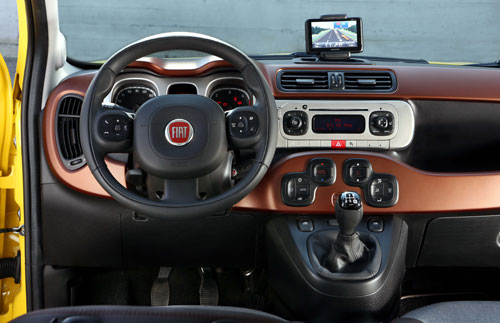 Fiat Panda Cross (interior)