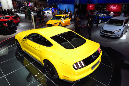 Stand de Ford (Mustang)