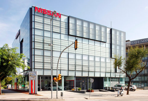 Nissan iberia estrena sede en l hospitalet de llobregat - Oficinas de iberia ...