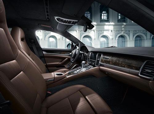Porsche Panamera (interior)