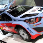 Hyundai i20 del Mundial de Rallyes