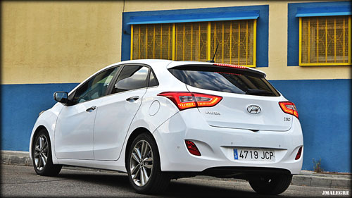Hyundai i30 (trasera)